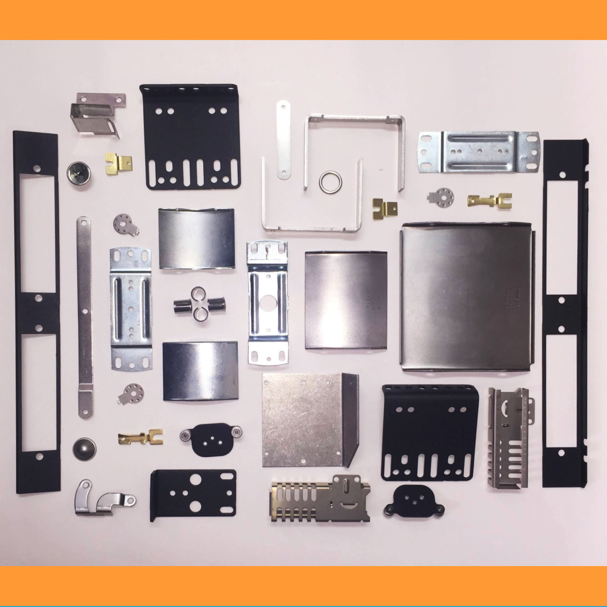 Special Metal Stamping square all parts